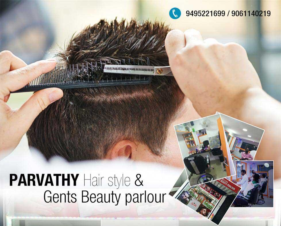 Parvathy Hairstyle Gents Beauty Parlour